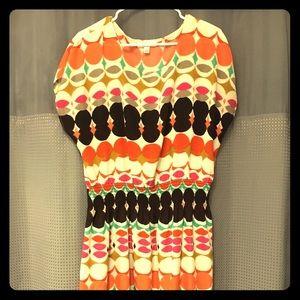 Cute cinch waisted dress Dressbarn 16